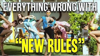 Download Everything Wrong With Dua Lipa - ″New Rules″ Video