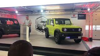 Download Suzuki takes the wraps off of the new Jimny at the SA Festival of Motoring Video
