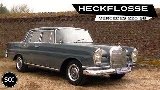 Download MERCEDES-BENZ W111 220 SB Heckflosse 1964 - Modest test drive - Engine sound | SCC TV Video