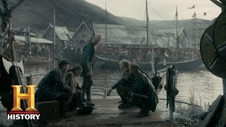 Download Vikings: Björn Tells His Brothers He Will Lead Them (Season 4, Episode 18) | History Video