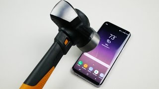 Download Samsung Galaxy S8 Plus Hammer & Knife Scratch Test Video