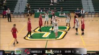 Download WBB: Siena 67, Fairfield 52 Video