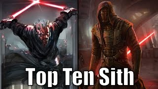 Download Top 10 Sith Lords (Results) - Star Wars Top Tens Video