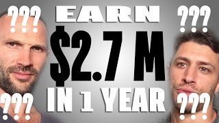 Download How You Can Make 2.7 Million In One Year Selling T-Shirts Video