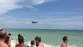Download Blue Angels Sneak Pass Pensacola Beach Airshow 2017 Video