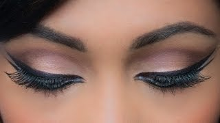 Download DUAL WINGTIP EYELINER SHARMILA TAGORE INSPIRED | Get The Look Video