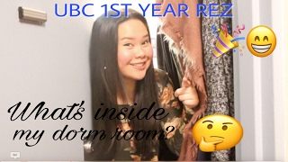 Download UBC DORM TOUR!!! (Place Vanier) Video