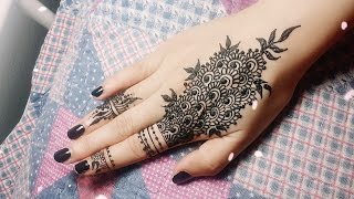 Download DIY Easy Mehendi Design for Fingers Tutorial #11 - Henna Temporary Tattoo! Video