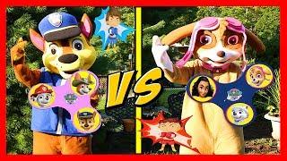 Download Paw Patrol Plays WORLD'S BIGGEST Fidget Spinners Game Boys vs Girls | Ellie Sparkles Video
