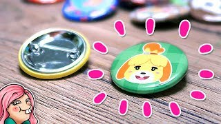 Download Making Cute ANIMAL CROSSING Buttons! Video