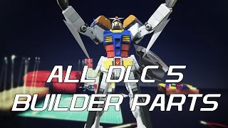 Download All DLC 5 Builder Parts and their Functions - Gundam Breaker 3 (English) Video