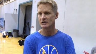 Download Steve Kerr On Mike Brown Replacing Him As Warriors Head Coach For Now. HoopJab NBA Video