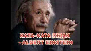 Download Kata-kata Bijak Albert Einstein Video