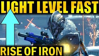 Download Destiny: INCREASE LIGHT LEVEL FAST! | Rise of Iron Guide Video