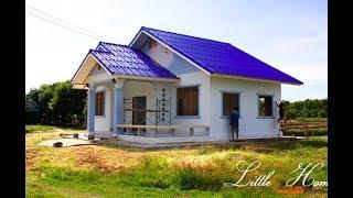 Download รีวิว สร้างบ้านหลังน้อยสำหรับครอบครัวเล็กๆ พื้นที่ 100 ตรม งบประมาณ 500,000 บาท Video