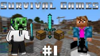 Download Minecraft - Survival Games - #3 - xWeeze, bra jobbat (Svenska) Video