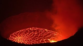 Download Nyiragongo Volcano, Virunga NP, DR Congo in 4K Ultra HD Video