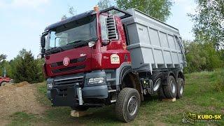 Download New TATRA Phoenix tractor - truck walkaround Video