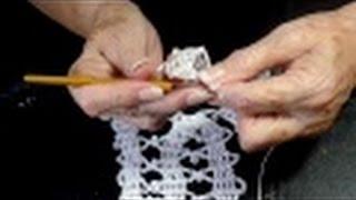 Download Secretos del Encaje de Burgos o brujas a Crochet. 2 motivos . Video