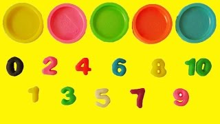 Download Learn Colors Learn to Count 1 to 10 Counting in English Play Doh Numbers Letters n' Fun Playset Video