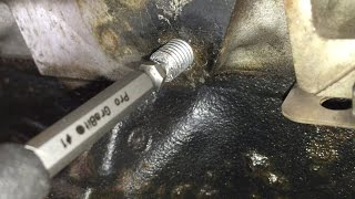 Download Ford 4.6L 5.4L 6.8L 3v Engines: Broken Exhaust Manifold Stud Removal Video