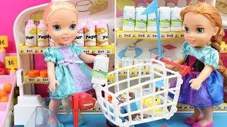 Download Aventuras de Elsa y Anna Frozen | Vídeos de Elsa y Anna en el baño, en el supermercado, en el médico Video