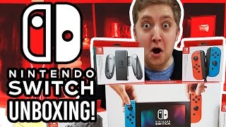 Download Nintendo Switch Unboxing + Setup! Video