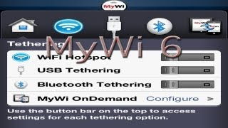 Download ″MyWi 6″ Cydia Tweak Review Hotspot for iPhone, iPad & iPod Touch Video