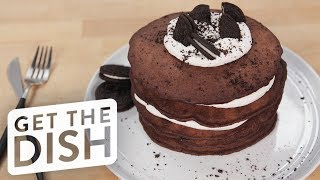 Download Oreo Pancakes | Get the Dish Video