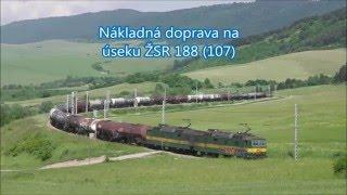 Download Nákladná doprava na úseku žsr 188 / trať (107) Video