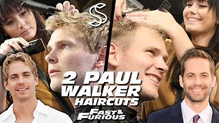 Download Paul Walker Hairstyle x 2 ★ Fast and Furious ★ Men's Hair Video