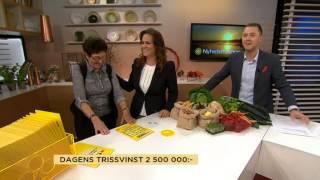 Download Se de fyra mest klickade Triss-vinnarna - Nyhetsmorgon (TV4) Video