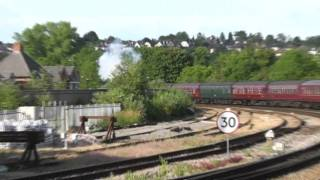 Download 44871 in epic struggle to depart Salisbury, plus 6024 King Edward I on the GWR 175 Video