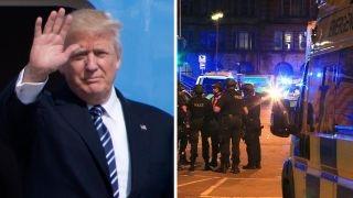 Download Media so Trump-deranged, it ignores Manchester aftermath Video