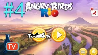 Download Angry Birds Rio 2 - Part 4 Blossom River - Gameplay walktrough Video