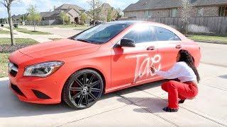 Download SPRAY PAINTING GIRLFRIEND CAR PRANK!!! Video
