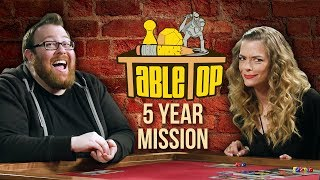 Download TableTop: Wil Wheaton Plays STAR TREK: FIVE YEAR MISSION w/ Jessica Chobot, Jaime King, & Jesse Cox Video