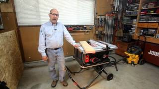 Download Tested: SawStop Jobsite Table Saw Video