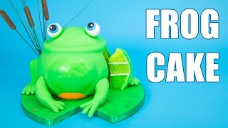 Download How to Make a 3D Frog Cake from Cookies, Cupcakes and Cardio Video
