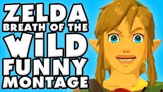 Download The Legend of Zelda Breath of The Wild Funny Moments Montage! Video