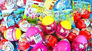 Download Kinder Surprise Eggs, Mega Bloks, Toy Story, Smurfs, Minions, Hello Kitty Surprise Eggs Video