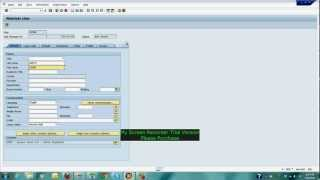 Download SAP Training how to create user using SU01 Video