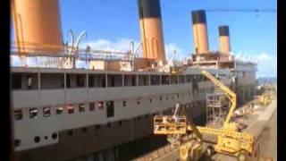 Download Titanic Movie 1997 Set Ship Construction Time Lapse *AMAZING* Video