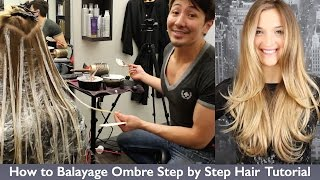 Download How to Balayage Ombre Step by Step Hair Painting Video
