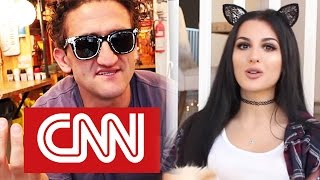 Download CNN Buys Casey Neistat's Beme for $25 MILLION? SSSniperWolf Blocks Scarce, YouTuber & FEDERAL POLICE Video