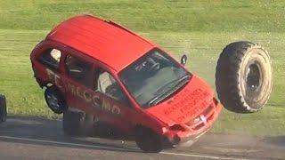 Download Destruction Highlights #2   Car Crashing/Jumping/Rolling Video