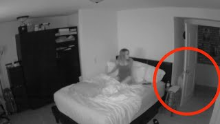 Download Woman Captures Paranormal Activity In Her Bedroom Video