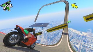 Download GTA 5 ONLINE 🐷 MEGA RAMPE IN MOTO !!!🐷 GARE STUNT 🐷N*174🐷 GTA 5 ITA 🐷 DAJE !!! Video