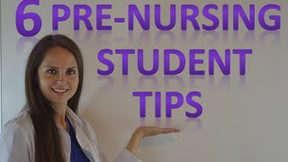 Download Pre Nursing Student School Advice | Tips on Studying, Applying, GPA Video
