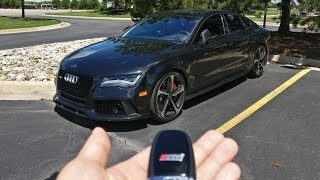 Download Living With The Audi RS7! Video
